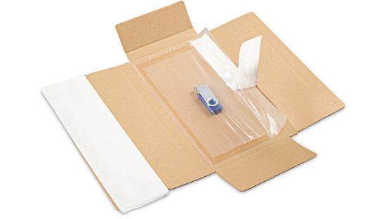 Cajas de cartón con fijación de film