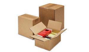 Cajas de cartón de canal doble