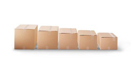 Cajas de cartón con altura regulable