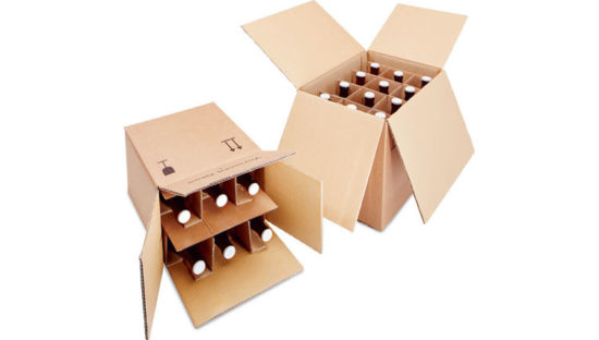 Cajas de cartón para botellas