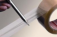Test bolígrafo cinta de embalar PVC