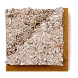 acolchado de compacto de papel