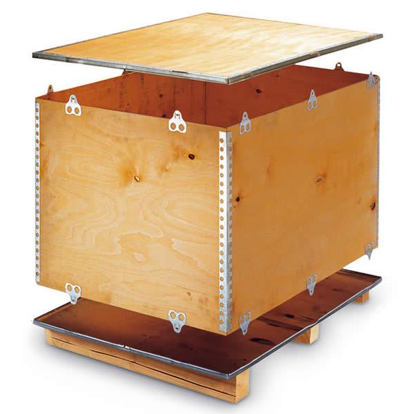 Cajas de madera para un transporte seguro