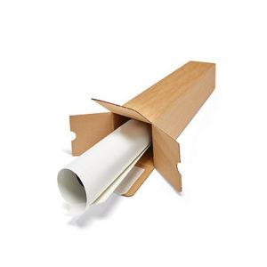 tubos de cartón cuadrados