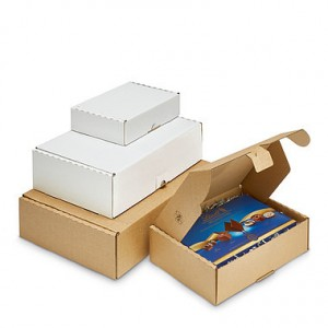 Cajas de cartón tipo sobre