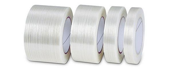 •La cinta de Filamento está reforzada con filamentos de fibra