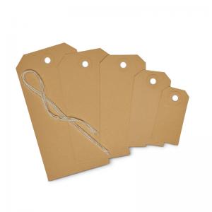 Etiquetas de carton papel kraft