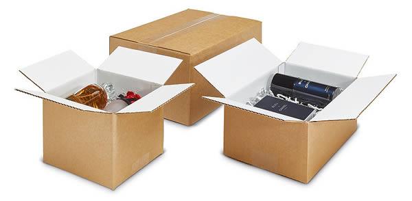 Las cajas de cartón