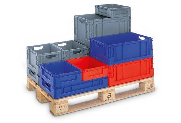 Las cajas de plástico