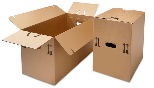 Las mil ventajas de la caja de cartón...