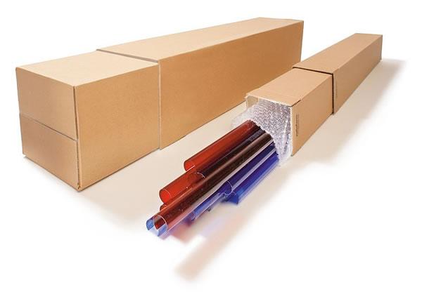 ¿Qué tipos de caja de cartón hay?