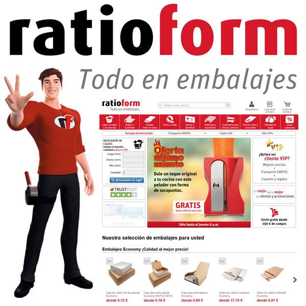 ratioform, líder europeo en material de embalaje