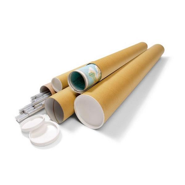 Usos de los tubos de cartón