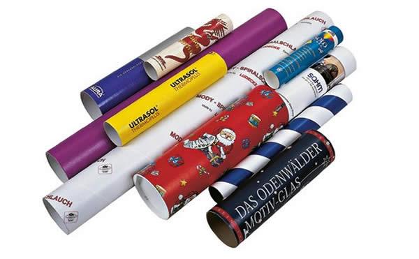Ventajas y clases de tubos de cartón