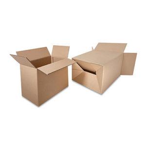 Cajas de cartón con fondo automático